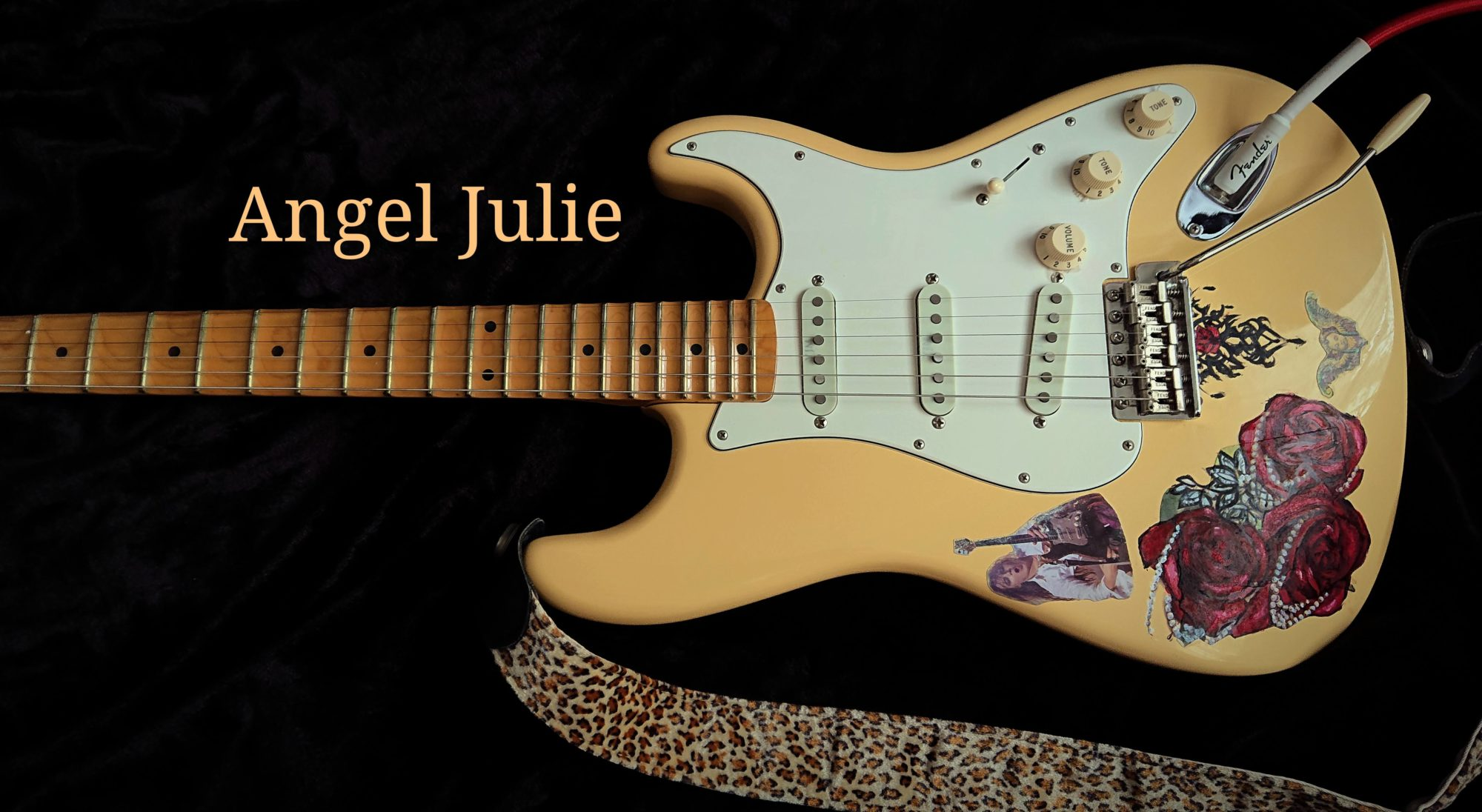 Guitarist Angel Julie Official site